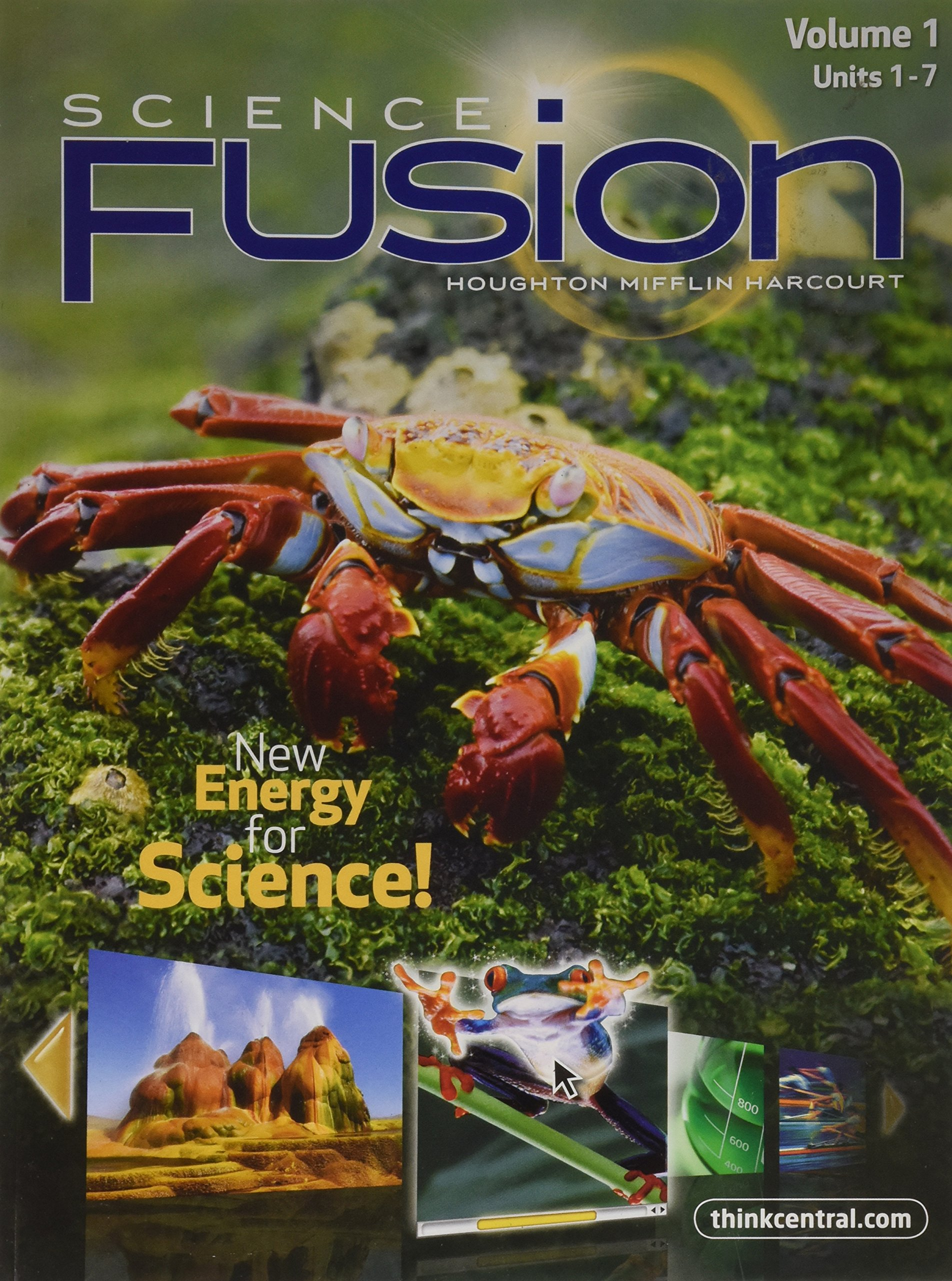 Science fusion volume 1 units 1 7 gr 5 houghton mifflin harcourt science fusion volume 1 units 1 7 gr 5 houghton mifflin harcourt 9780547719368 amazon books ccuart Gallery