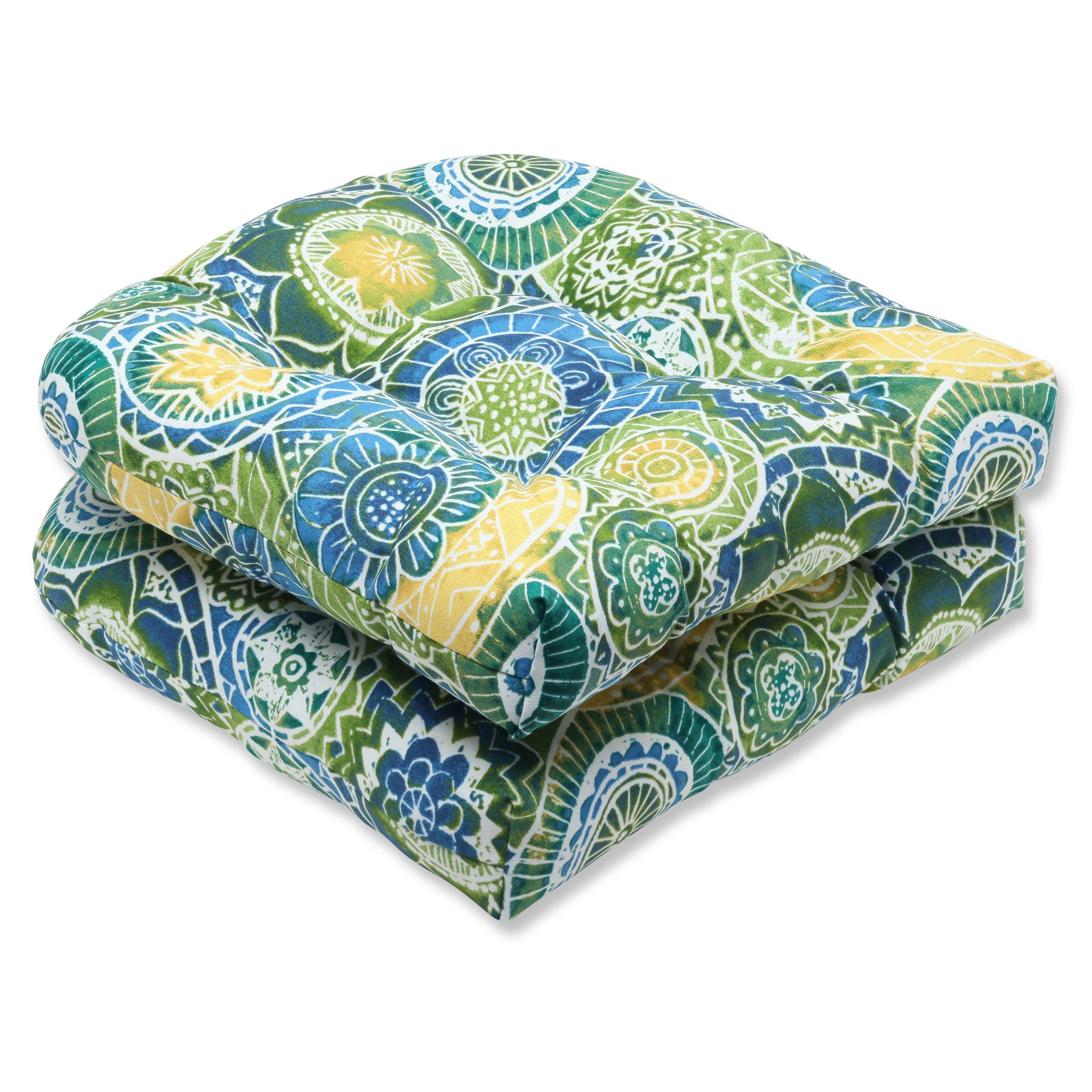 Pillow Perfect Outdoor Omnia Lagoon Wicker Seat