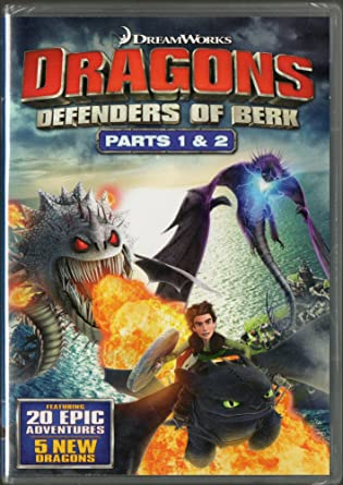 Dragons: Defenders of Berk - Part 1 & 2 Complete Second Season Four-Disk Set