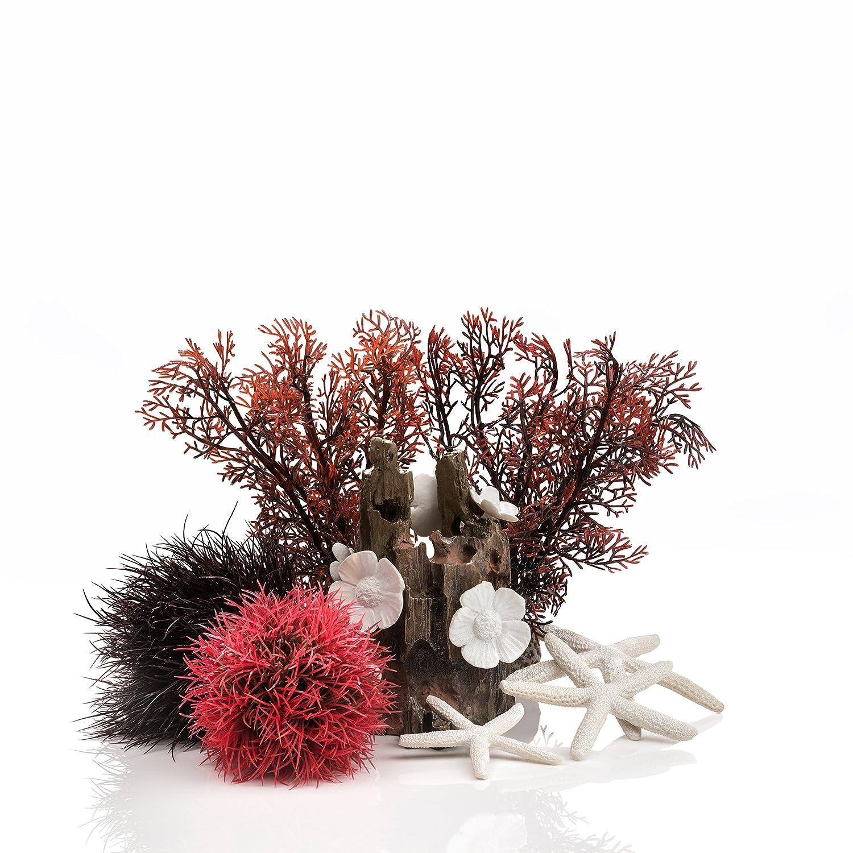Oase BiOrb Complete Aquarium Decor Set 15L Red Forest