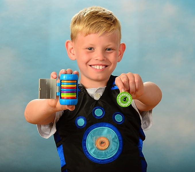 Wild Kratts Unidades de alimentación determinada calificaron con 20 discos juguetes de criatura Martin Kratt: Amazon.es: Juguetes y juegos