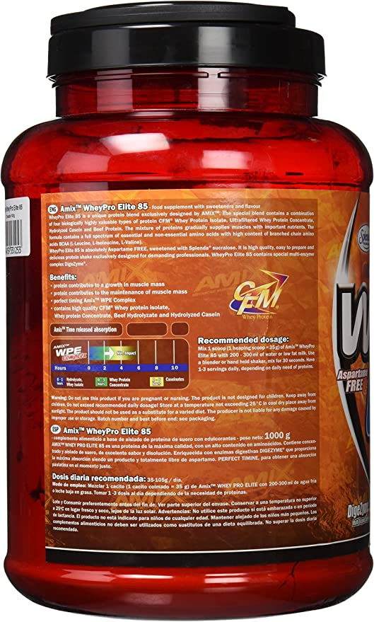 Amix Wheypro Elite 85 Proteínas - 1000 gr_8594159531253 ...