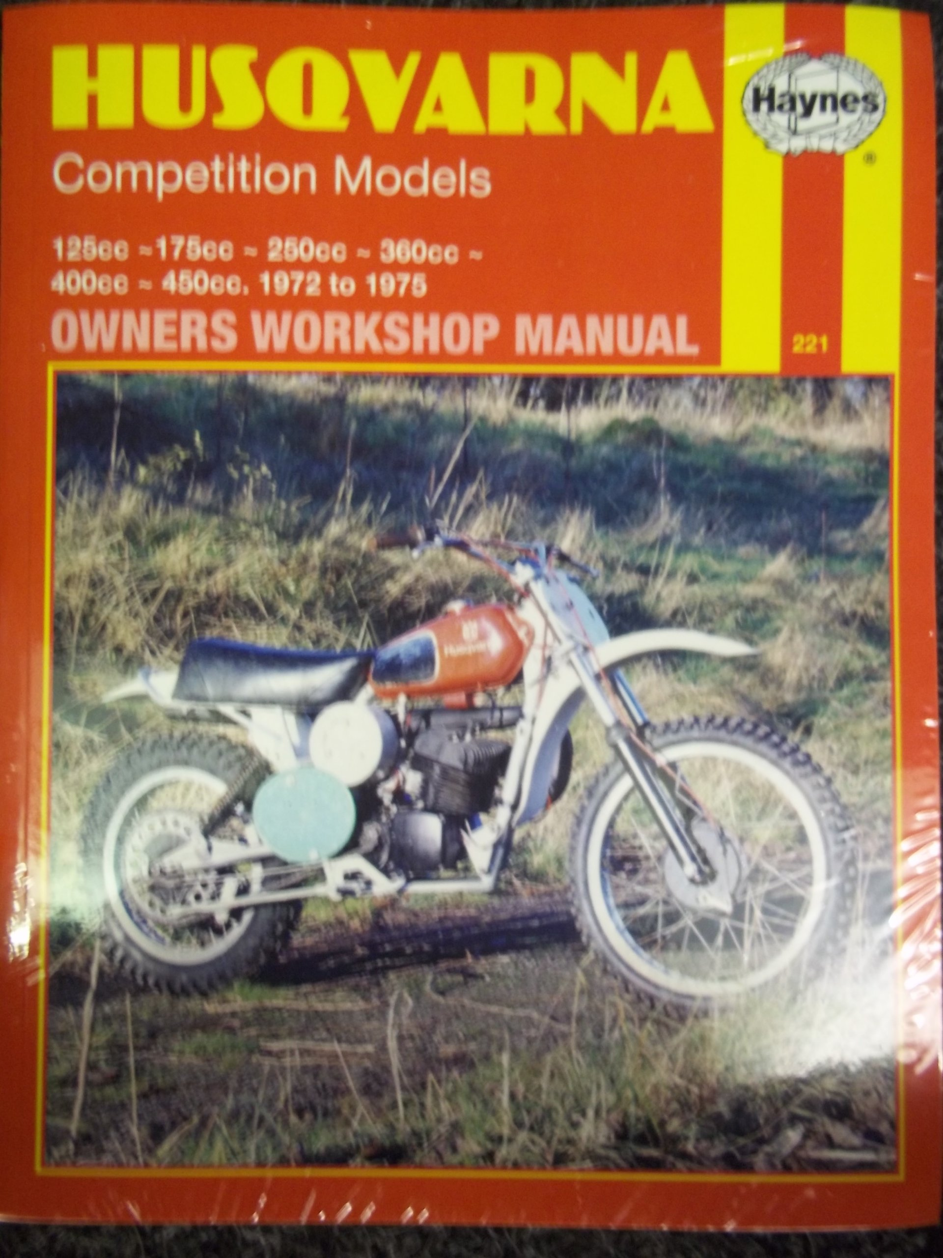 Husqvarna Competition Models (Haynes owners workshop manuals for  motorcycles): Amazon.co.uk: Haynes Publishing: 9780856962219: Books