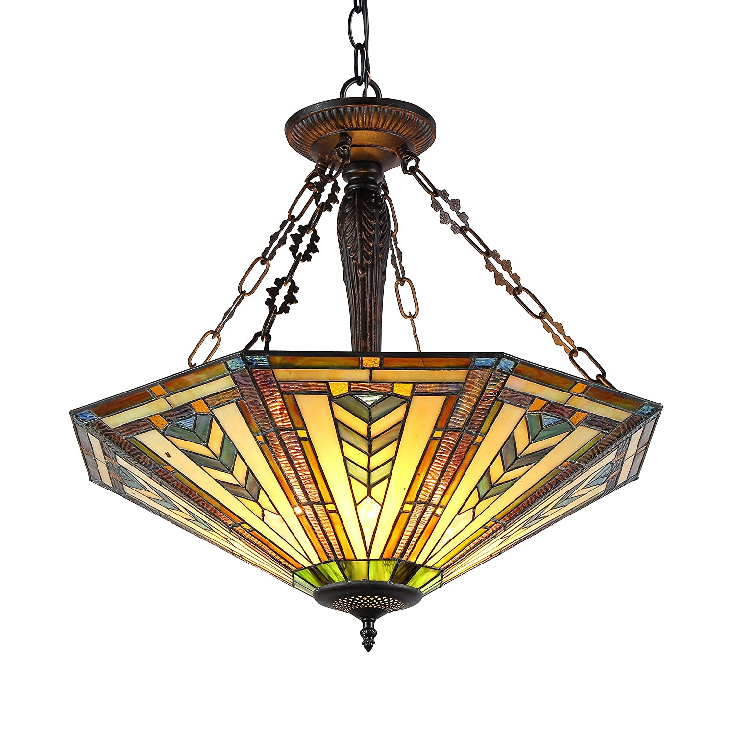 Chloe lighting ch36321gm25 uh3 harrison inverted ceiling pendant