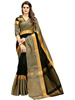 Ruchika Fashion Artificial Silk Saree With Blouse Piece(Angi Variations)