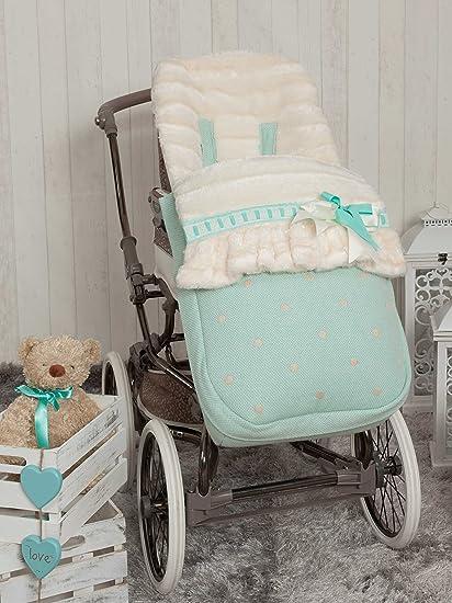 Babyline 2000540 - Saco de silla de paseo, color aguamarina