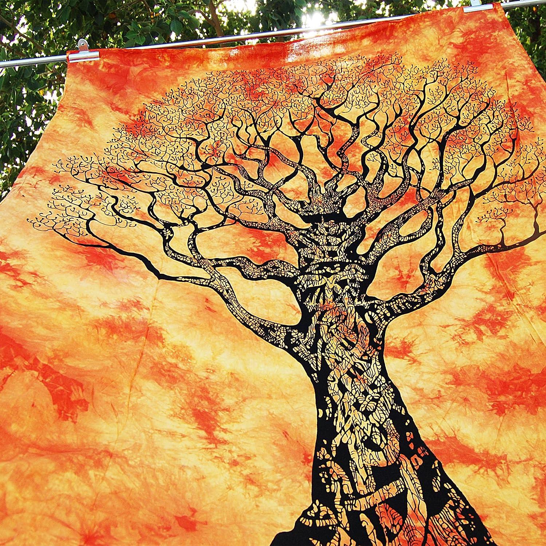Amazon.com: ZAIAZ Dry Tree Indian Wall Hanging Hippie Celtic Tree ...