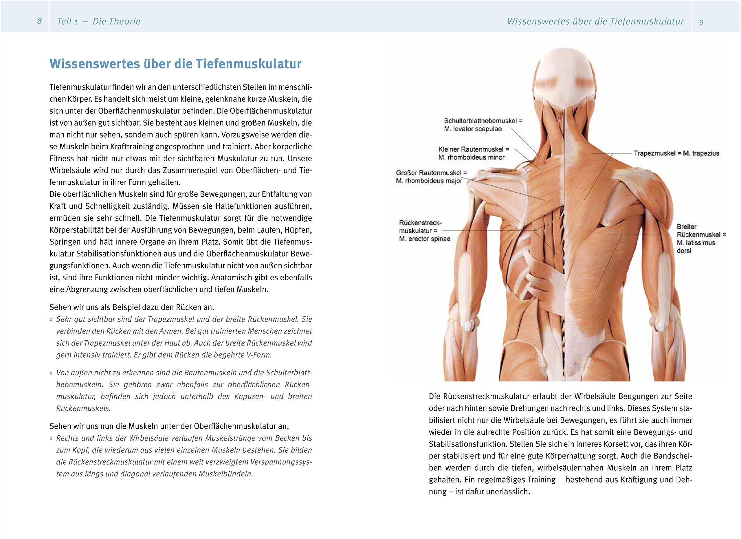 Tiefenmuskulatur-Training: Für eine bessere Körperwahrnehmung, mehr ...