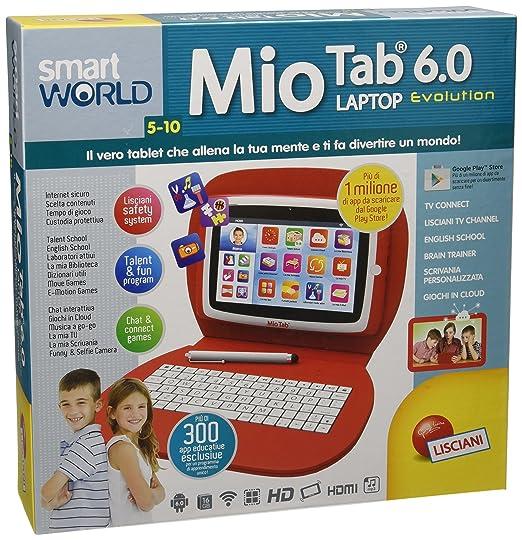 13 opinioni per Lisciani Giochi 55647- Mio Tab Laptop Evolution HD 16 GB