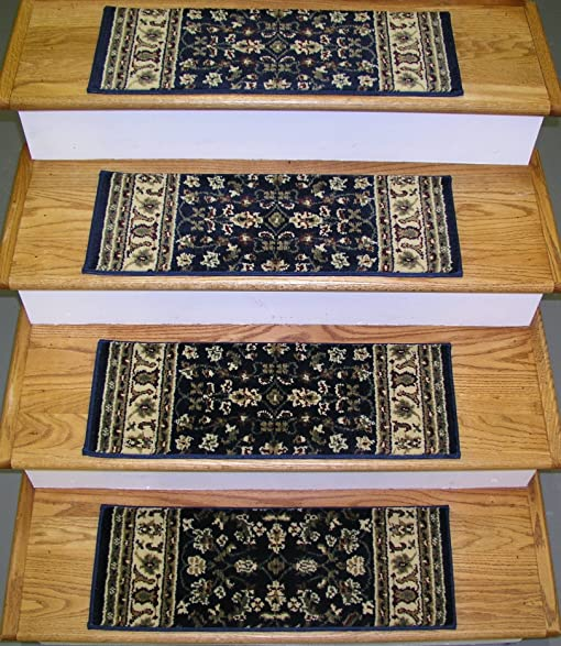148712   Rug Depot Premium Carpet Stair Runner Treads   Set Of 13 Stair  Treads 26u0026quot