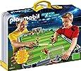 Playmobil - 6857 - Terrain de football transportable