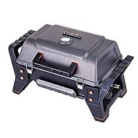 X200 Grill2Go Tischgrill Char-Broil klein schwarz Balkon Camping 1-flammig ✔ Deckel ✔ eckig ✔ tragbar ✔ Grillen mit Gas ✔ für den Tisch