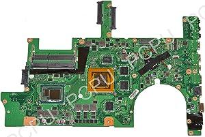 60NB06F0-MB1900 Asus G751JY Laptop Motherboard 4GB w/Intel i7-4870HQ 2.5Ghz CPU, 455.02H01.002
