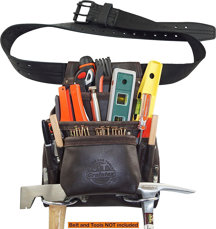 Caucho Cuero de Trabajo Craft Hollow Punzones Conjunto de Herramientas PRINDIY Paquete de 10 Piezas de 0,5-5 mm de Cuero