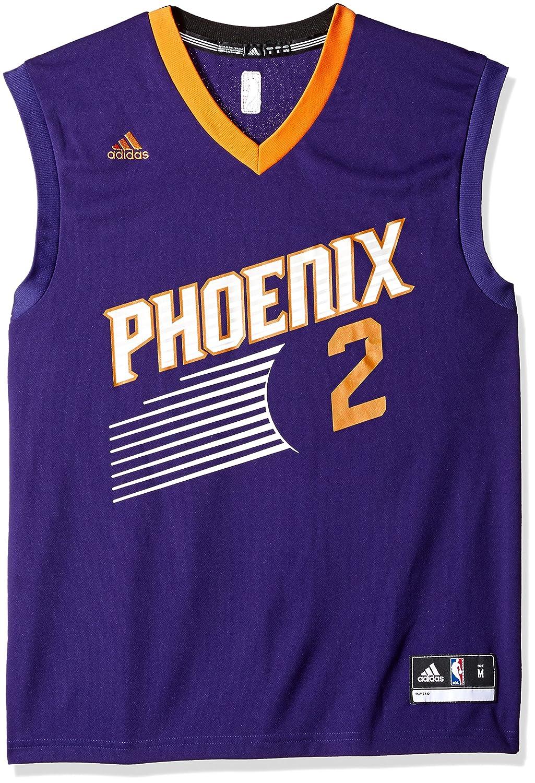 adidas Eric Bledsoe Phoenix Suns NBA Mens Purple Official Road Replica Jersey