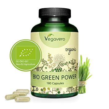 Green Power BIO Vegavero® | Hierba de Trigo + Hierba de ...