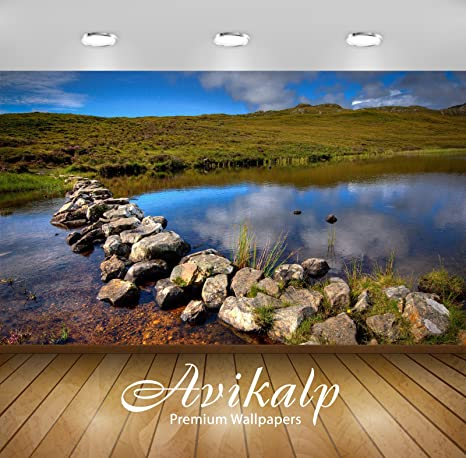 Buy Avikalp Exclusive Awi6204 Small Creek In Scotland Nature