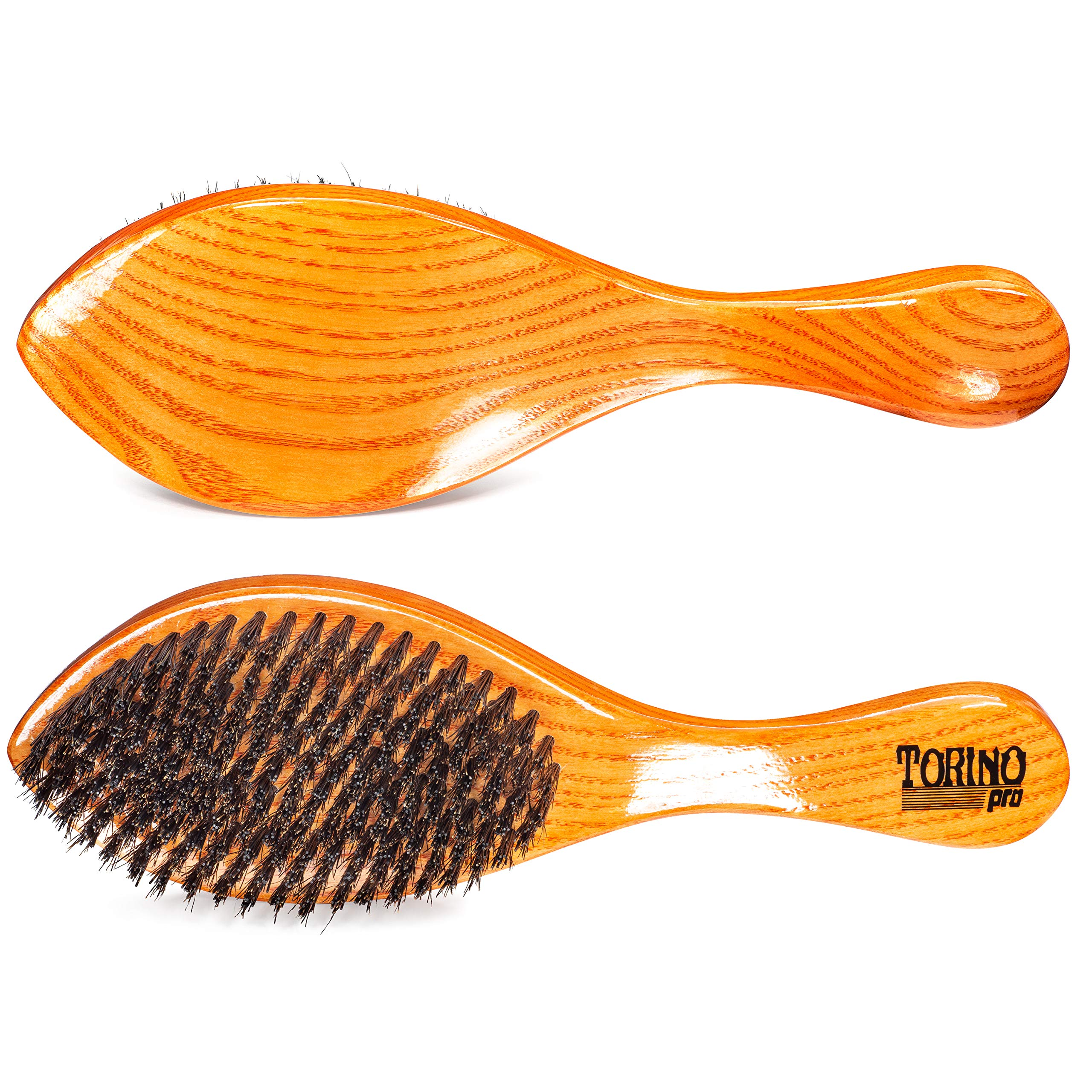 Torino Pro Medium Hard Curve Wave Brush By Brush King - #1670-360 Curved Medium Hard - Great for Wolfing - For 360 Waves