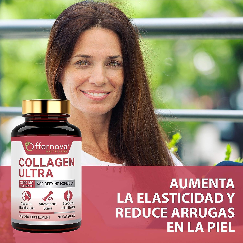 Amazon.com: Colageno Hidrolizado Ultra - Capsulas 3000 MG - Rejuvenece tu Piel Huesos Articulaciones y Musculos: Health & Personal Care