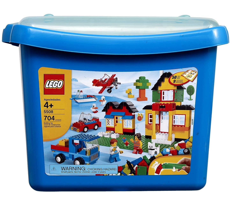 Amazon Lego Bricks More Deluxe Brick Box 5508 704 Pieces