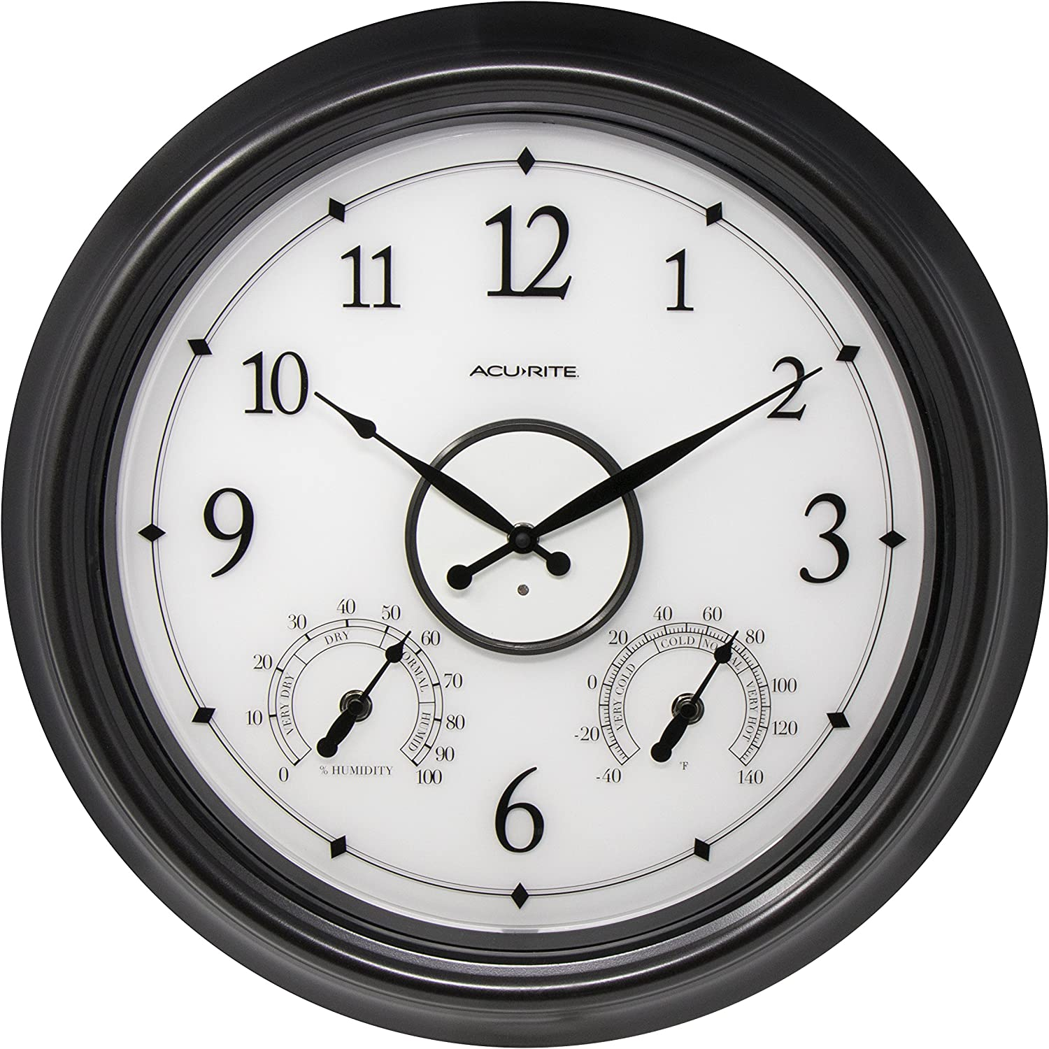 A picture of ABB Performance LED Illuminated Outdoor Clock to better look into  Best outdoor clocks 2020