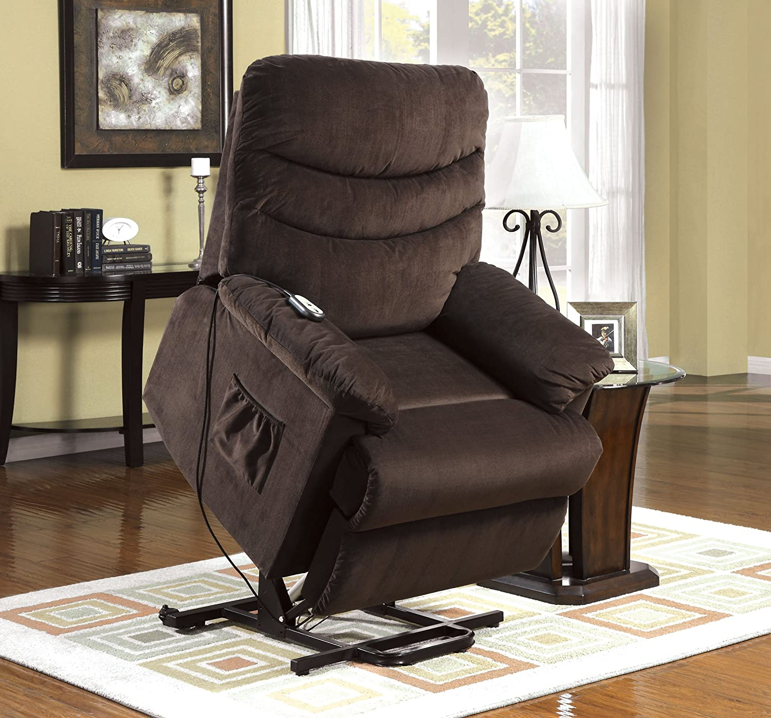 Amazon Furniture of America Venturi Bella Fabric Recliner