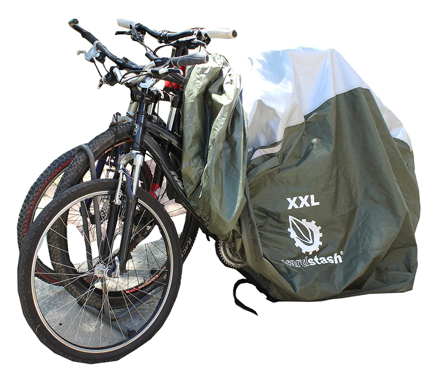 Yardstash Bicycle Cover Xxl For 2 3 Bikes And Trikes