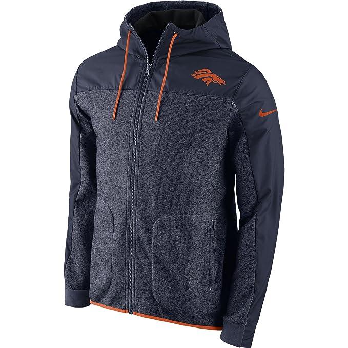 Amazon.com: Nike Denver Broncos AV15 - Chaqueta con ...