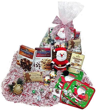 Christmas Kitchen Baking Gift Basket - Lindt Gourmet Truffles Ghirardelli Cookie u0026 Brownie Mixes  sc 1 st  Amazon.com & Christmas Kitchen Baking Gift Basket - Lindt Gourmet Truffles ...