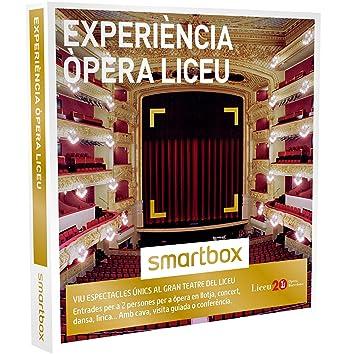 SMARTBOX - Caja Regalo - EXPERIÈNCIA ÒPERA LICEU - Entrades per a òpera en llotja, concert, dansa, lírica... al Gran Teatre del Liceu: Amazon.es: Deportes y ...
