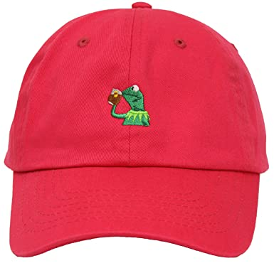 hot pink polo baseball cap suede the frog adjustable leather