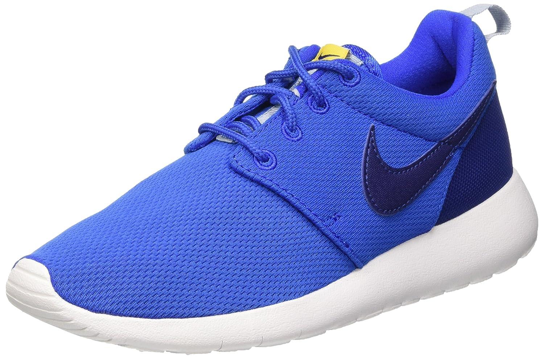 Nike Roshe One (GS) Zapatillas de Running, Niños 37.5 EU|Azul / Blanco (Hypr Cblt / Dp Ryl Bl-vrsty Mz-b)