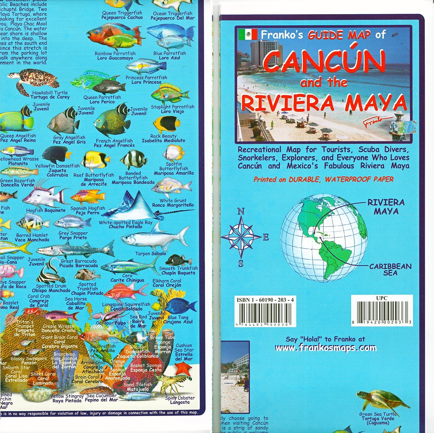 Franko's Guide Map of Cancun and the Riviera Maya (English ... on south america map, world map, mexico map, merida map, yucatan map, caribbean map, xcaret map, cabo san lucas map, playa del carmen map, machu picchu map, central america map, cozumel map, puerto vallarta map, acapulco map, belize map, isla mujeres map, quintana roo map, tulum map, la paz map, riviera maya map,