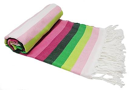 BellaCasa Rainbow ZusenZomer Backpacker Toalla de baño Toalla de Sauna Pest Veces Fouta Toalla de Playa