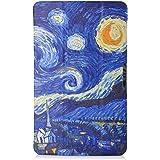 Samsung Galaxy Tab A 10.1 Funda Case - IVSO Slim Smart Cover Funda Protectora de Cuero PU para Samsung Galaxy Tab A 10.1 2016 Tablet(Color 2)