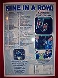 Rangers Scottish Premier League champions 1997 - Nine in a Row - souvenir print
