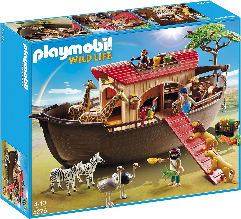 Playmobil Arca de Animales - Arca de Animales, Set de Juego, 60 x 15 x 50 cm, (5276)