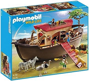 Playmobil Noé La Animaux 5276 Arche Figurine De Avec Savane 0nO8wPkX