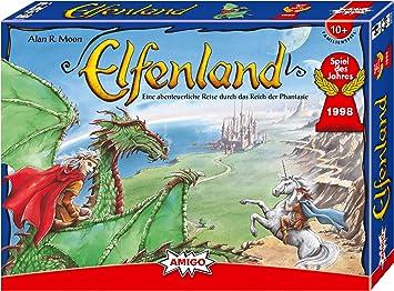 Amigo Spiele 8300 Elfenland - Juego de Mesa para niños [Importado de Alemania]: Moon, Alan R.: Amazon.es: Juguetes y juegos