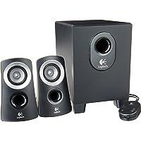 Logitech Z313 Sistema de Bocinas, 50 W, Color Negro