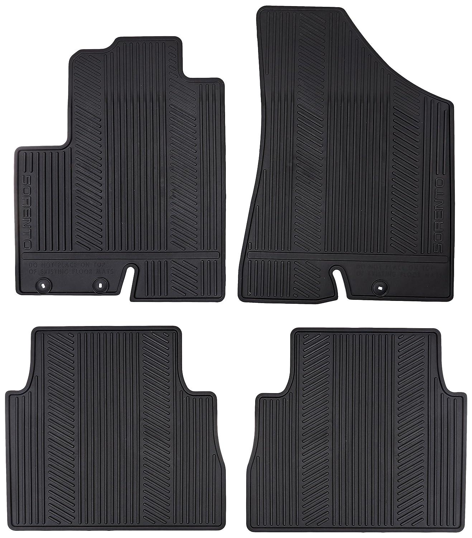 Rubber floor mats 2013 kia sportage - Amazon Com Genuine Kia Accessories 1uf13 Ac400 2 Hook All Weather Floor Mat For Select Sorento Models Automotive