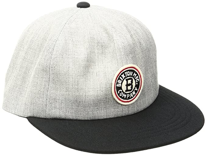 2ffa80ae56c Amazon.com  Brixton Men s Louisville Snapback