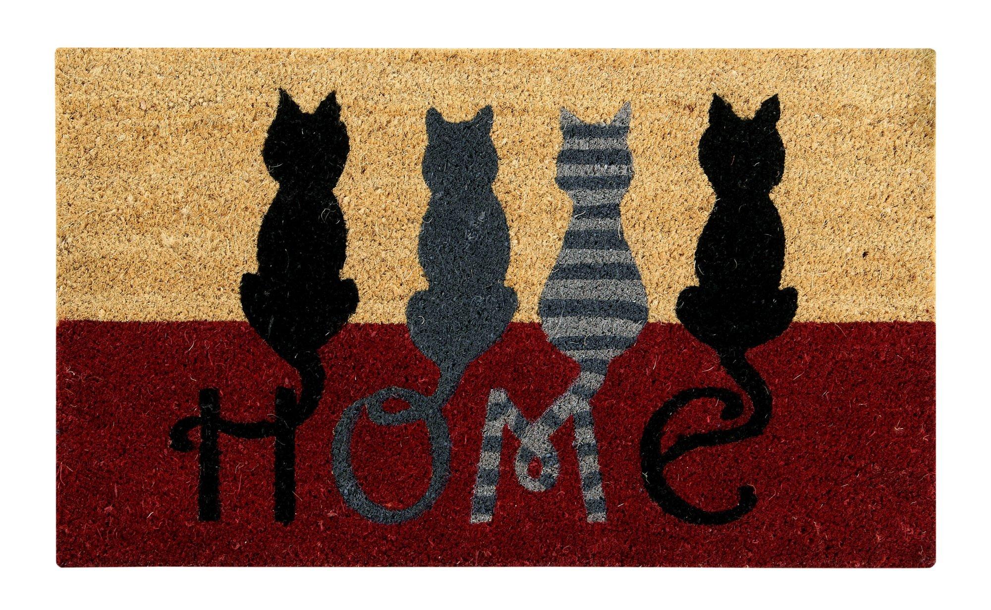 Better Trends/ Pan Overseas Cat Home Coir Door Mat