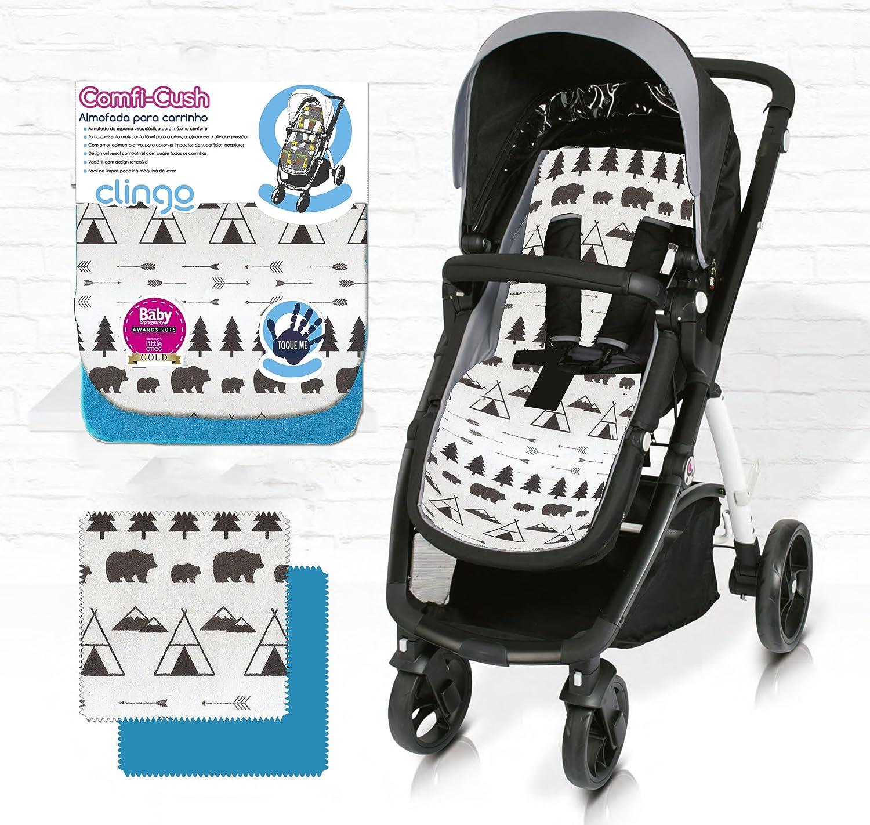 Comfi-Cush Memory Foam Stroller Liner Adventure