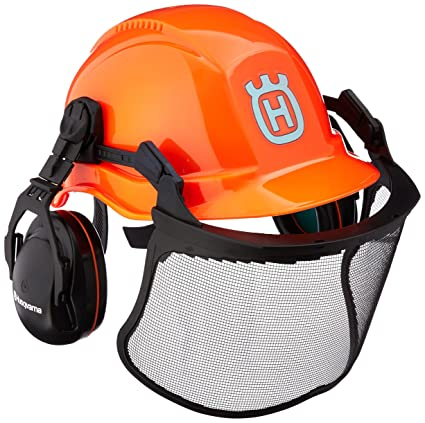 86d8ff1f Amazon.com : Husqvarna ProForest Chain Saw Helmet System : Hardhats :  Garden & Outdoor