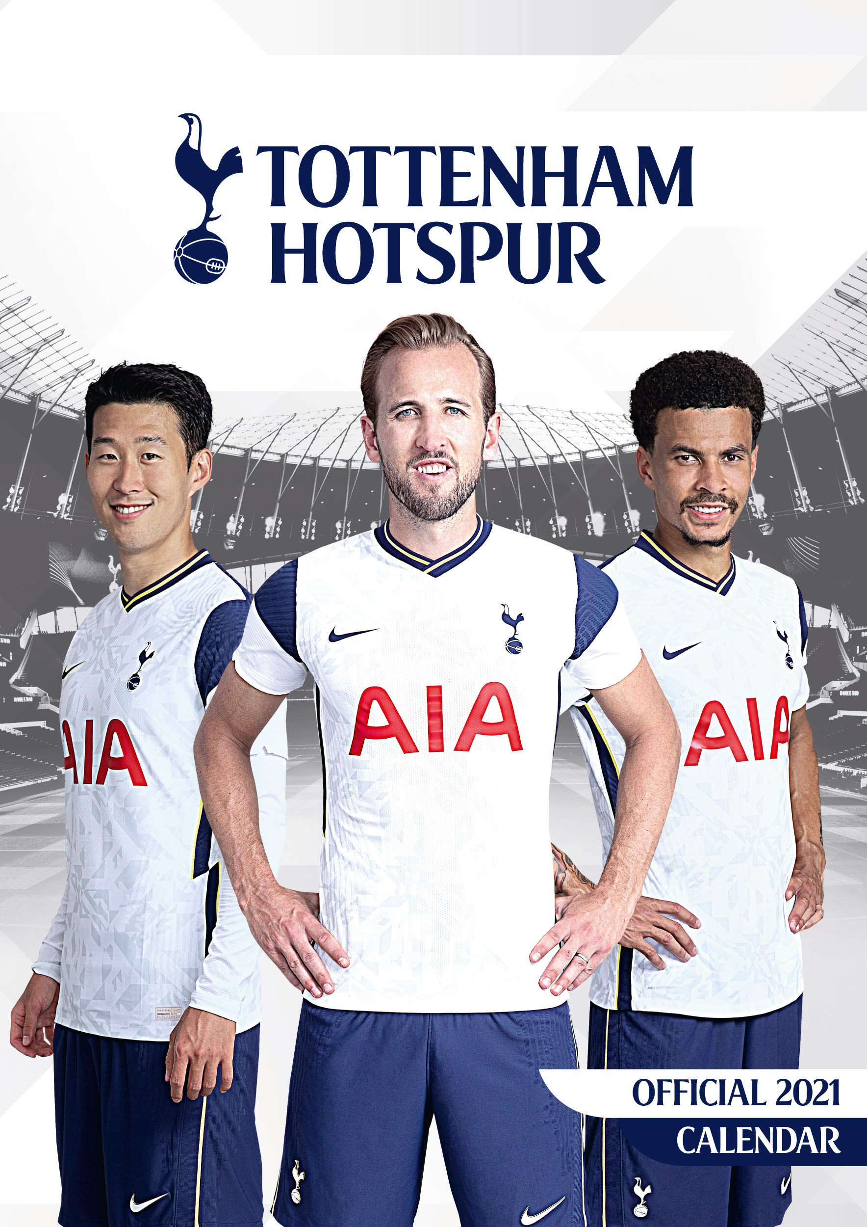 Official Tottenham Hotspur Calendar A Wall Format Calendar Amazon co uk Danilo Promotions LTD Books