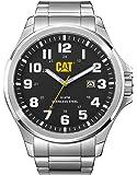 Caterpillar PU.141.11.111 Reloj Análogo de Lujo, para Hombre, negro y plata