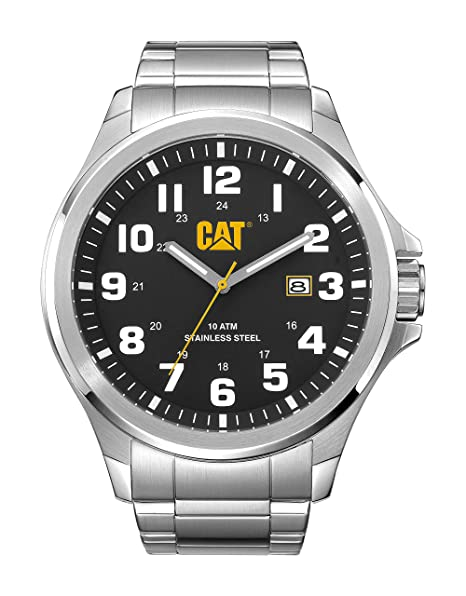 b66cf2018aeb Caterpillar PU.141.11.111 Reloj Análogo de Lujo