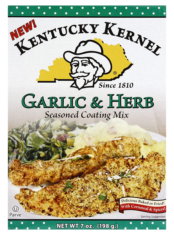 Kentucky Kernel Garlic & Herb Coating Mix, 7 Ounce