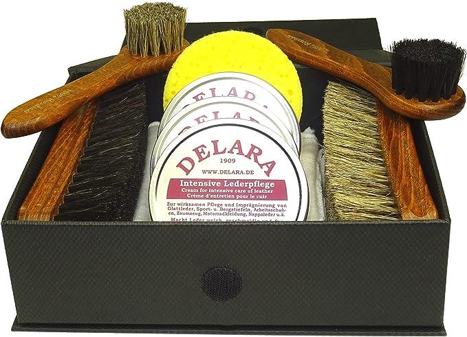 Kit de limpieza para cuero y piel